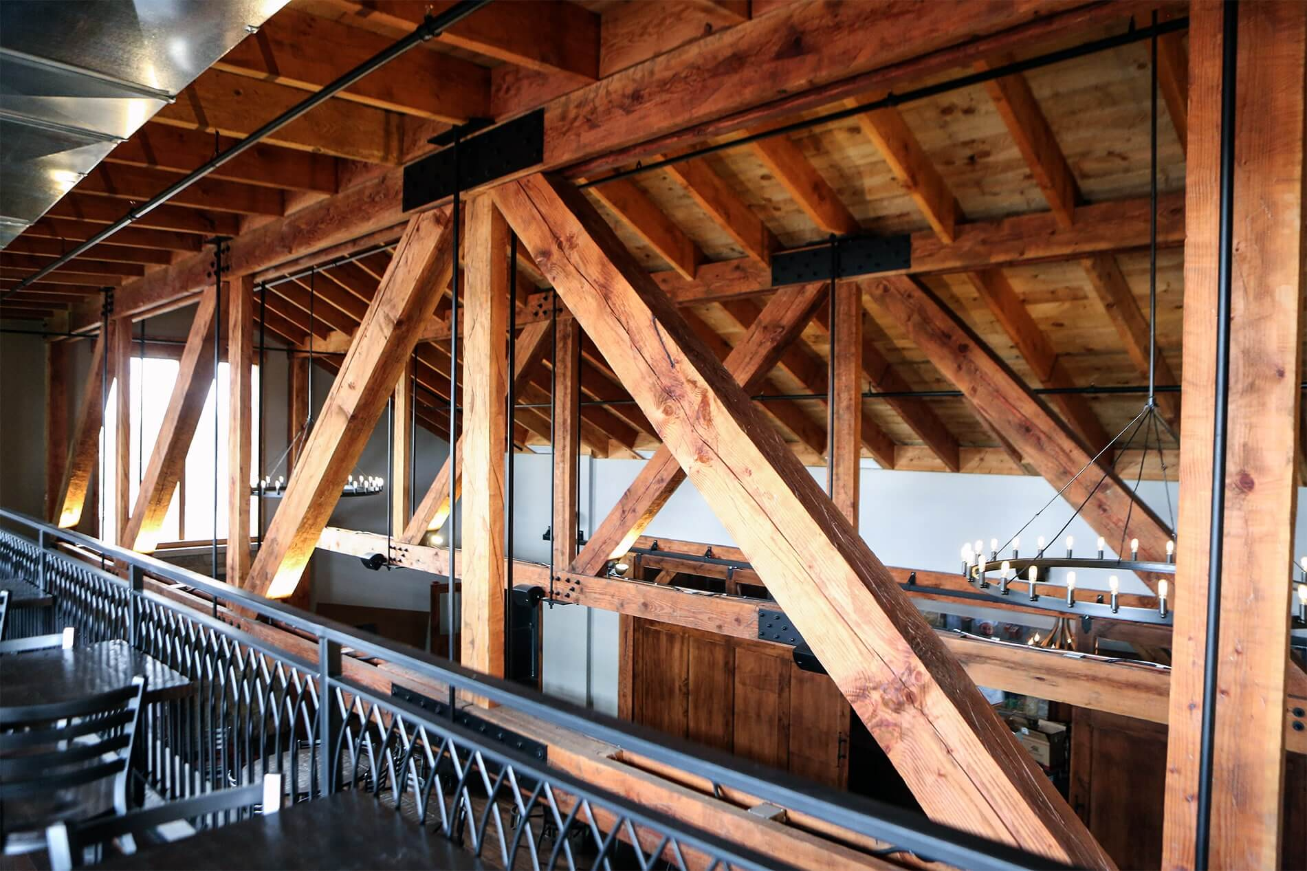 Douglas Fir Trusses