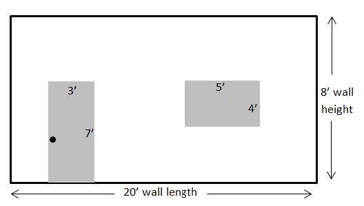 Standard Wall Measurements Diagram