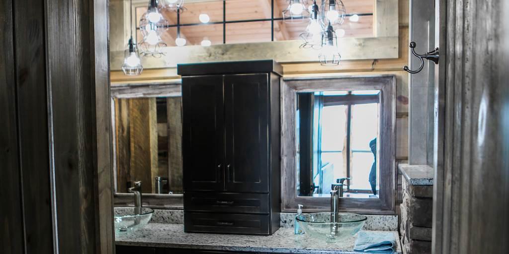 6 Wood Bathroom Design Ideas Northern Log